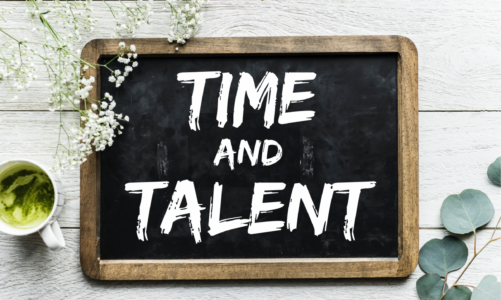 TIME AND TALENT SHEET