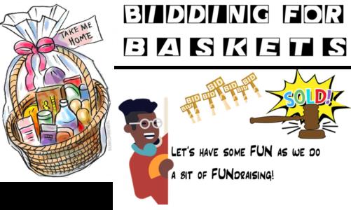 BIDDING FOR BASKETS
